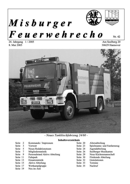 Misburger Feuerwehrecho 2005