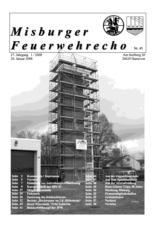 Misburger Feuerwehrecho 2008