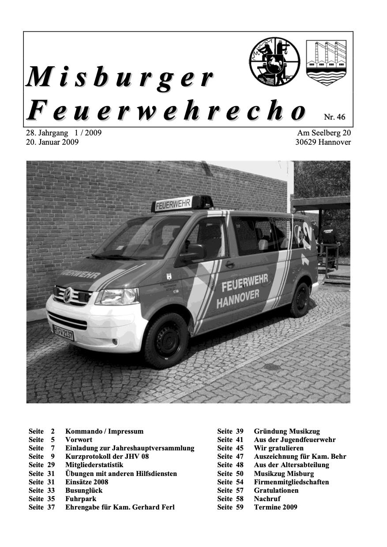 Misburger Feuerwehrecho 2009