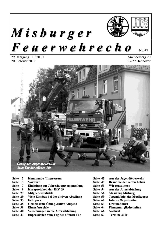 Misburger Feuerwehrecho 2010