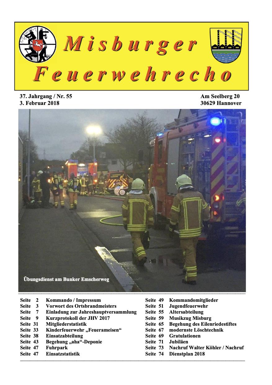 Misburger Feuerwehrecho 2018