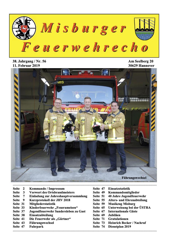 Misburger Feuerwehrecho 2019