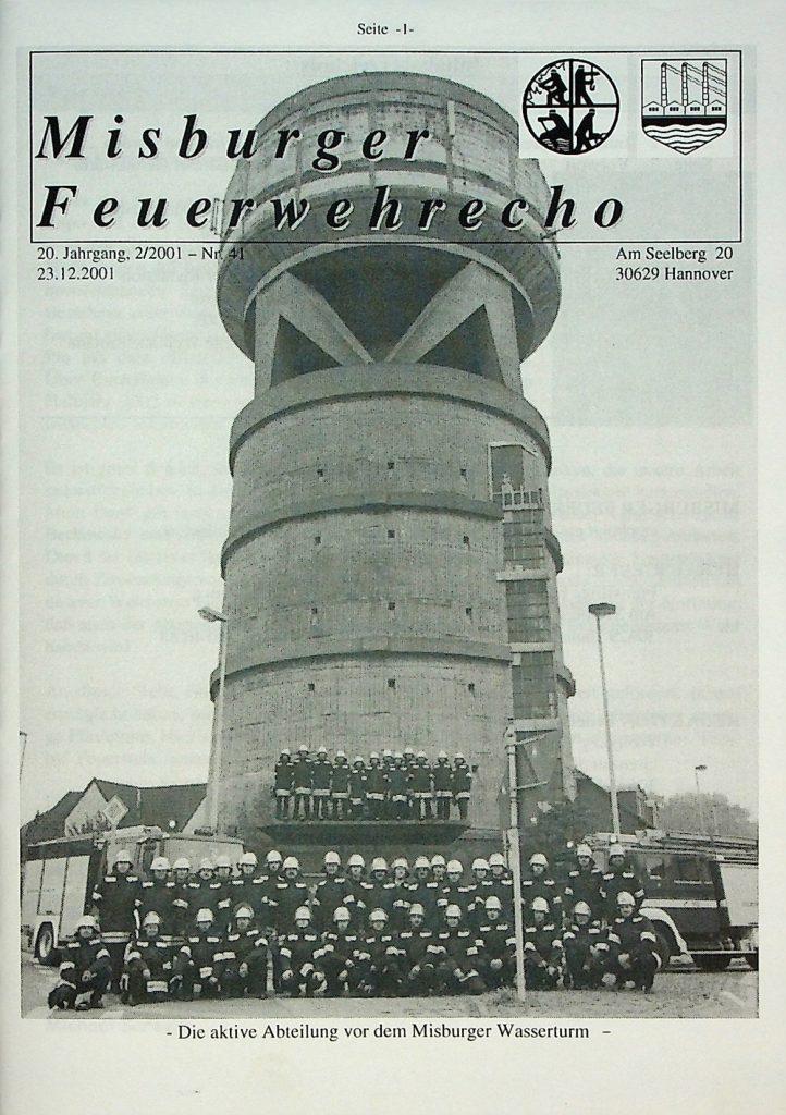 Misburger Feuerwehrecho 2001 II