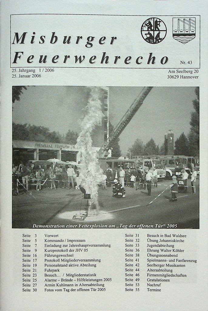Misburger Feuerwehrecho 2006